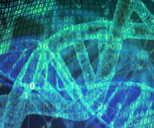 DNA Color - Strands